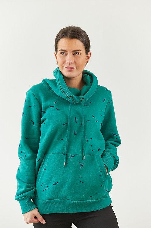 """Sweatshirt """"Elly"""" in Grün"""