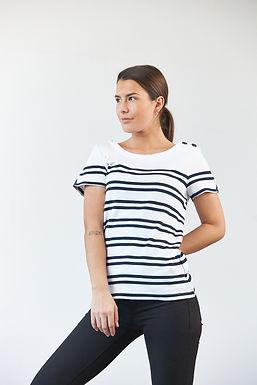 """T-Shirt """"Candice"""" in Weiß"""