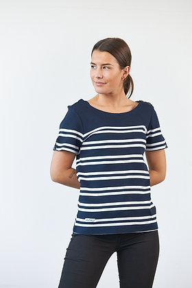 """""""Candice"""" - T-Shirt in Navy"""