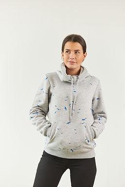 """Sweatshirt """"Elly"""" in Grau"""