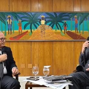 Rádio BrasilNordeste:  Presidente Bolsonaro falando com o Nordeste detalhou ações na região