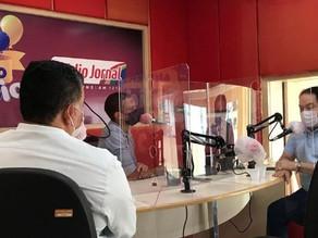 Em entrevista a Rádio Jornal, Izaías Régis reafirma que não deixou débitos na Prefeitura
