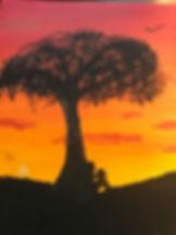 Peyton Scarborough grade 7 painting entr