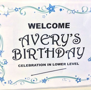 sign for your special event
