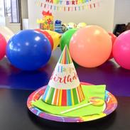 hold a birthday celebration