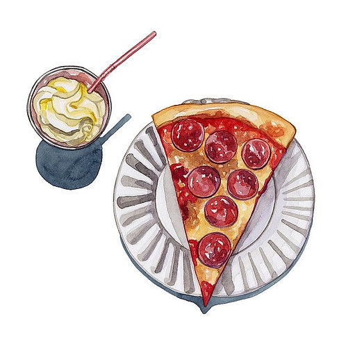 Shake and Pizza Combo deal