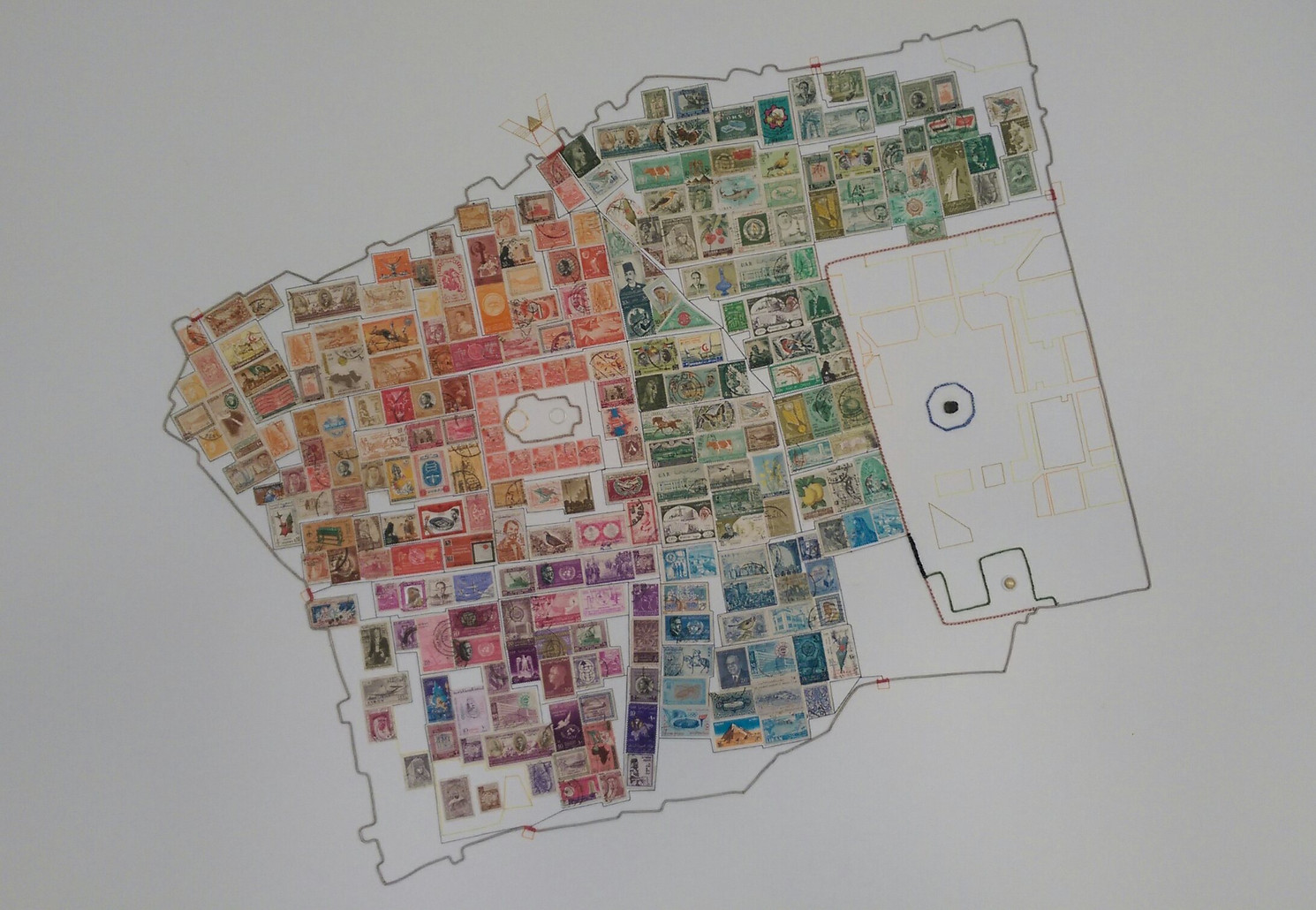 The Stamp that Remains- Jerusalem