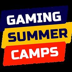 Gaming Summer Camps logo.png