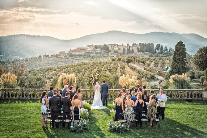 Destination Wedding Artimino, Tuscany