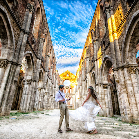 Engagement a Siena