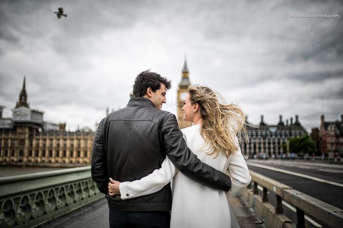 Engagement fotografico a Londra