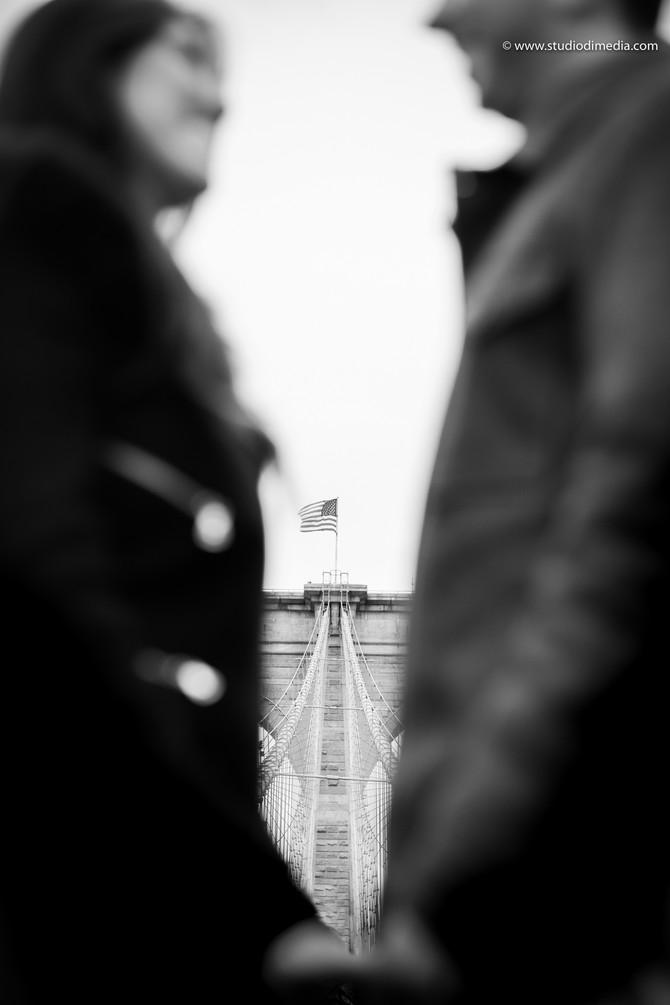 Servizio fotografico pre-matrimoniale a New York