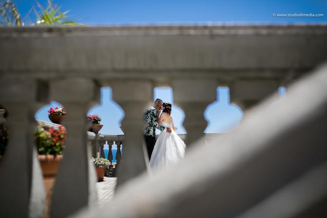 Servizio fotografico matrimoniale a La Tonnara di Amantea (Calabria)