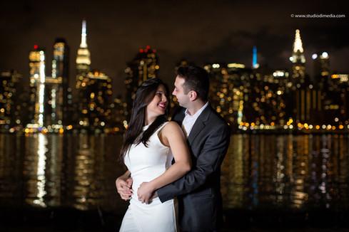 Engagement a New York
