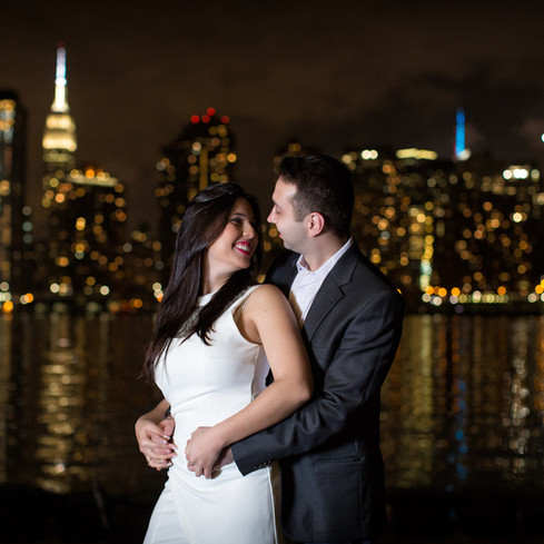 Engagement a New York