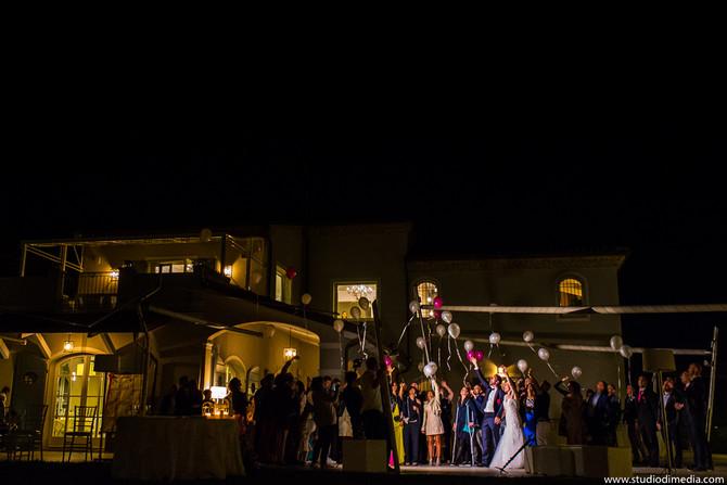 Il matrimonio a Villa Malatesta di Elena e Claudio