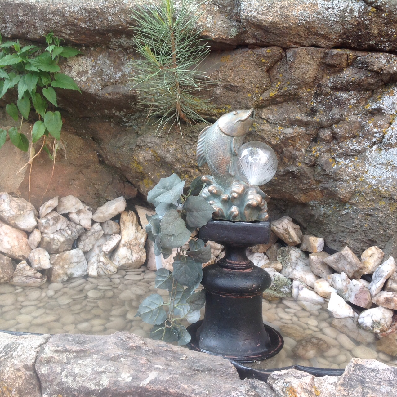 fish  fountain
