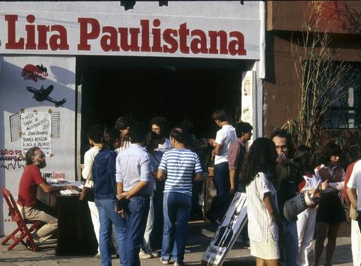 O grito da expressão independente do Lira Paulistana