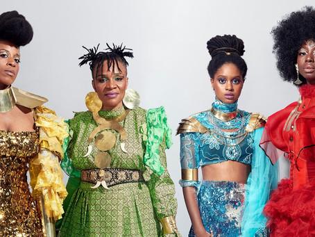 A VOZ FEMININA GLOBAL DE LES AMAZONES D'AFRIQUE!