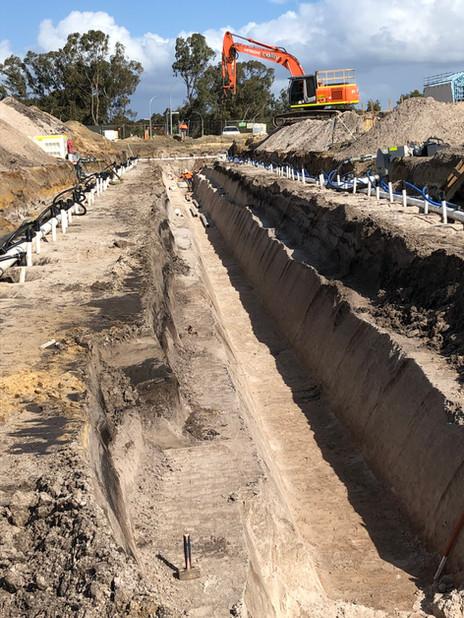 Open Trench Excavation