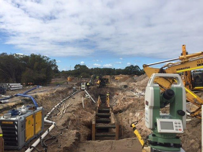 Dewatering and Trench box package