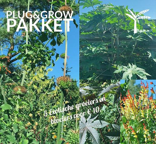 Plug&Grow pakket