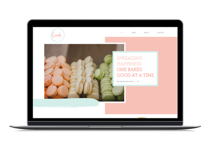 Crumb Bakery Website Design