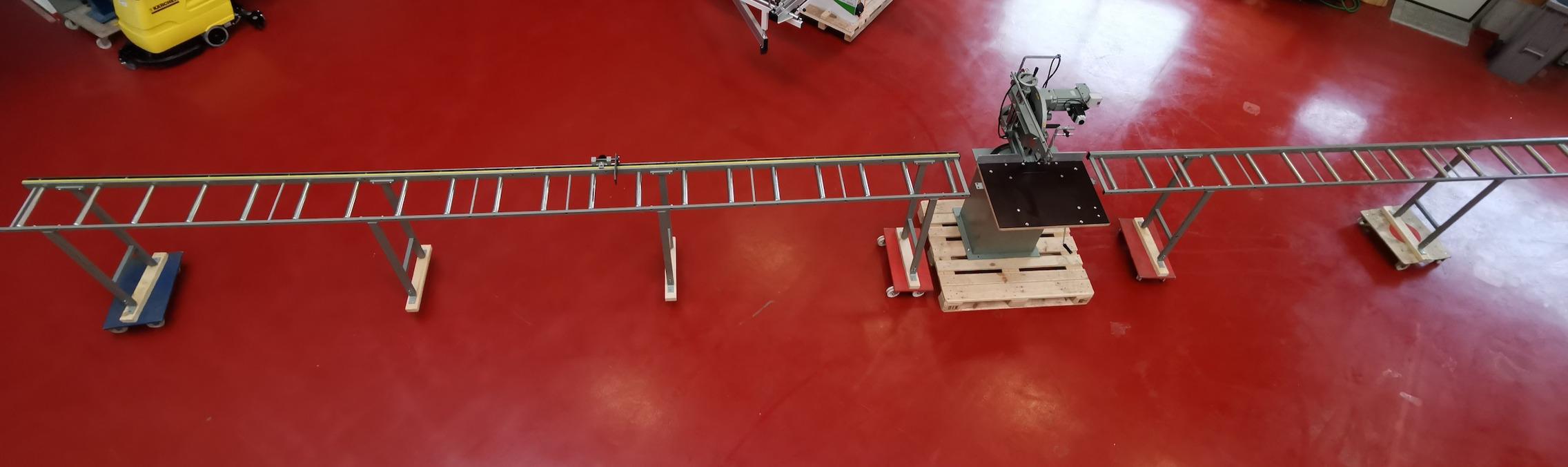 Graule ZS170N mit Rollbahnen
