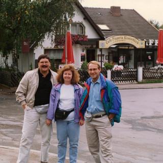 93 We look like tourists.  Sober tourists.