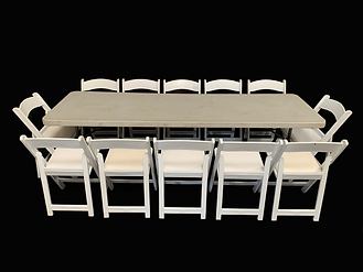 Banquet Table 8ft (with chairs).png