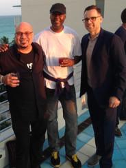 Ramon Wells, Ed McGill (Universal LA), Dusko Justic (Sony Intl. UK)