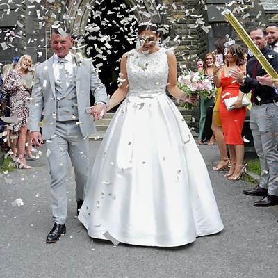 Lee & Jane Wedding Day - Marriott Hotel Worsley