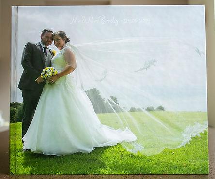 Wedding Story Book - Large Landscape £35