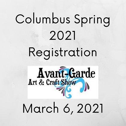 Columbus Spring Registration ($75.00+)
