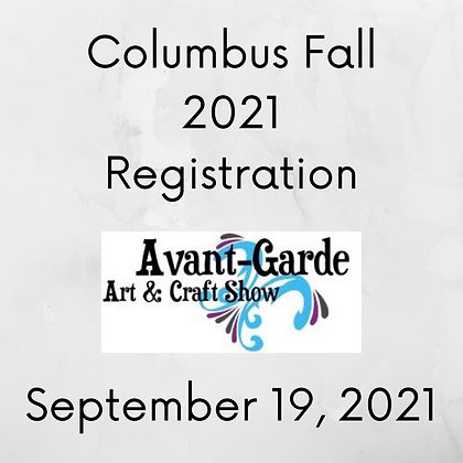 Columbus Fall Registration ($75.00+)