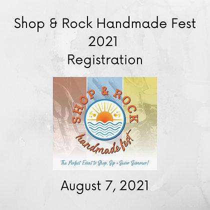 Shop & Rock Handmade Fest Registration ($175.00+)