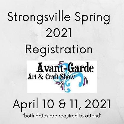 Strongsville Spring Registration ($105.00+)