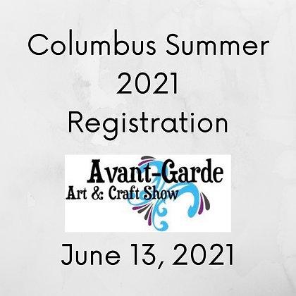 Columbus Summer Registration ($75.00+)