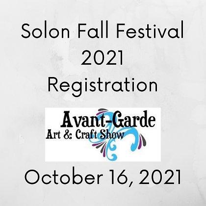 Solon Fall Festival Registration ($125.00)