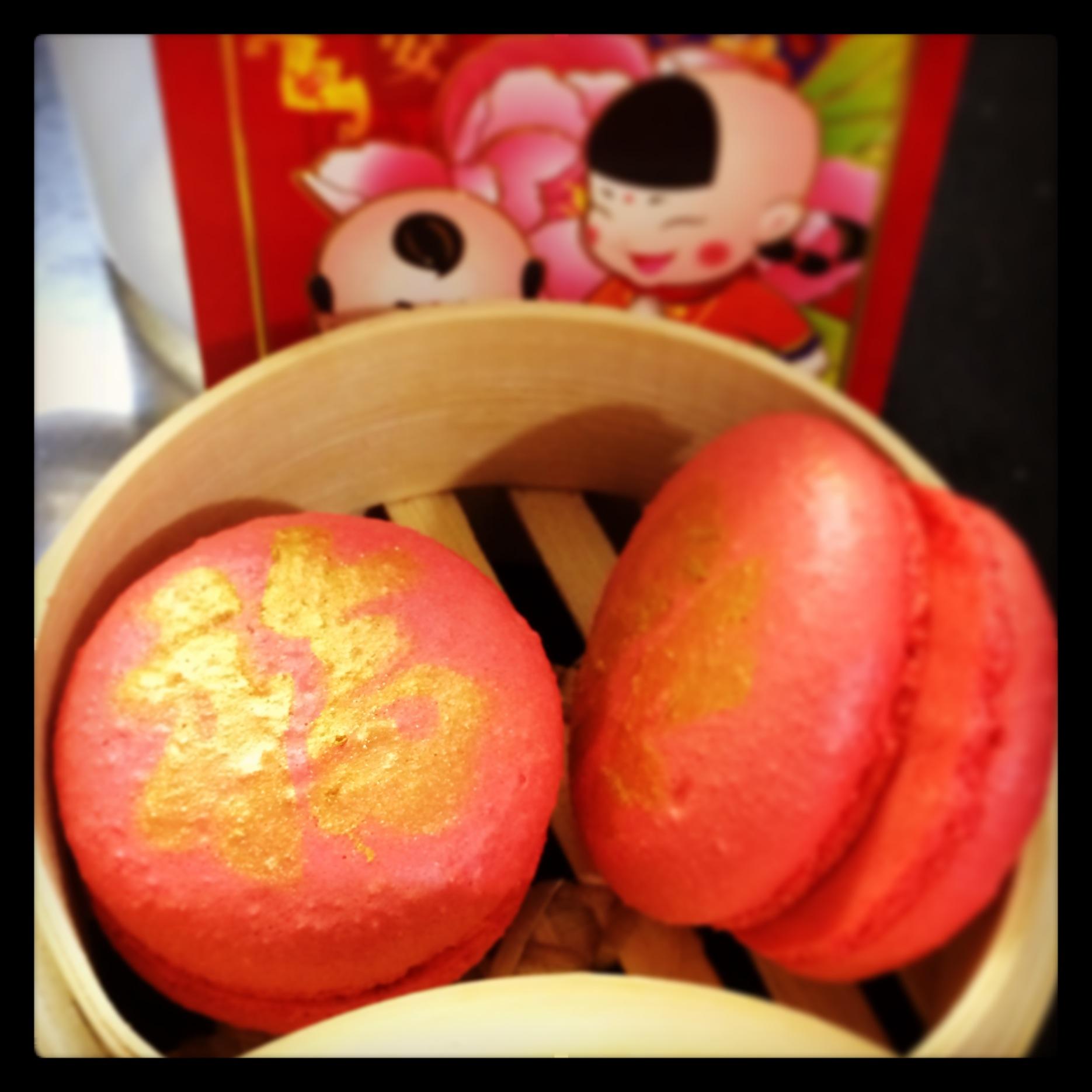 Chinese New Year Macarons