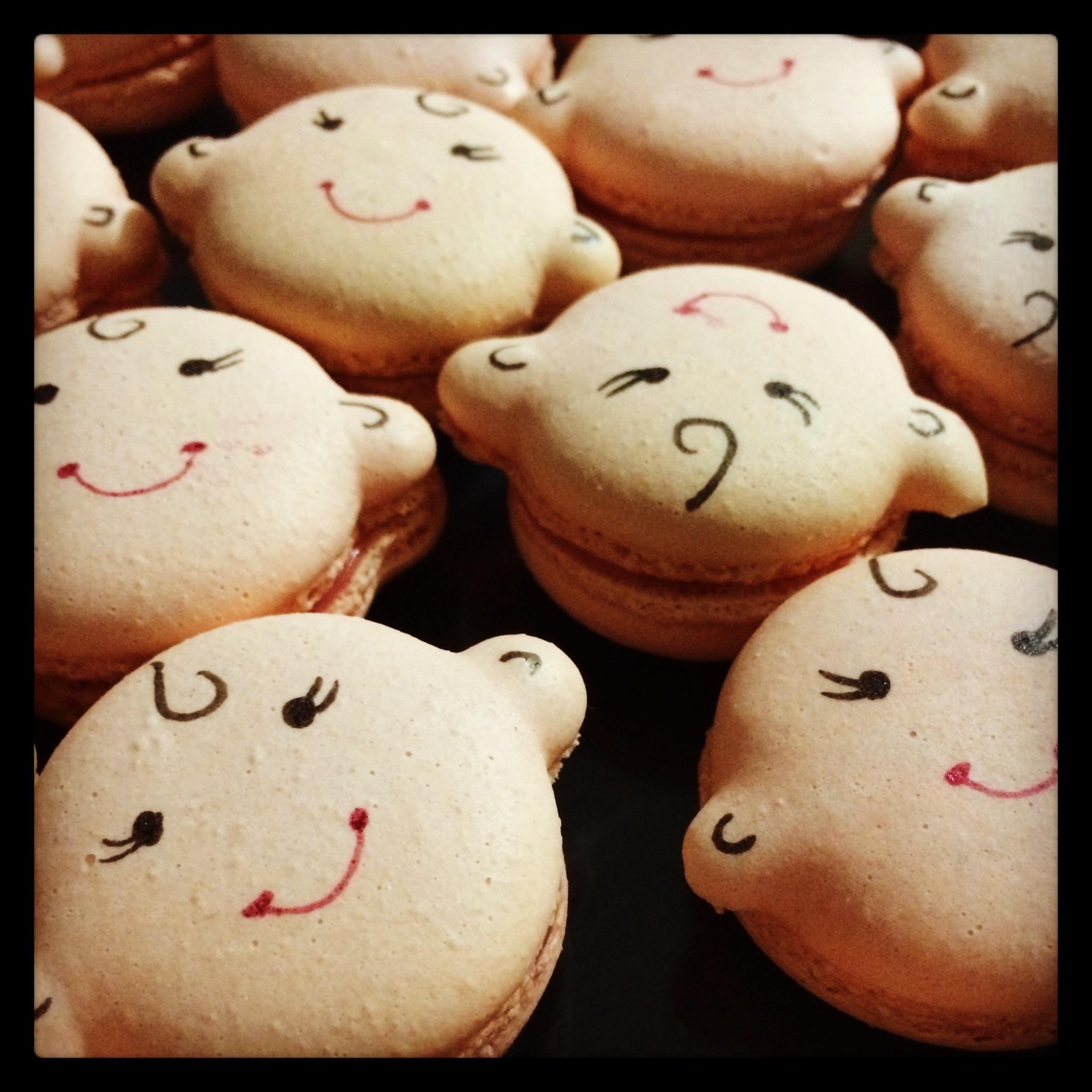 Babyface Macarons