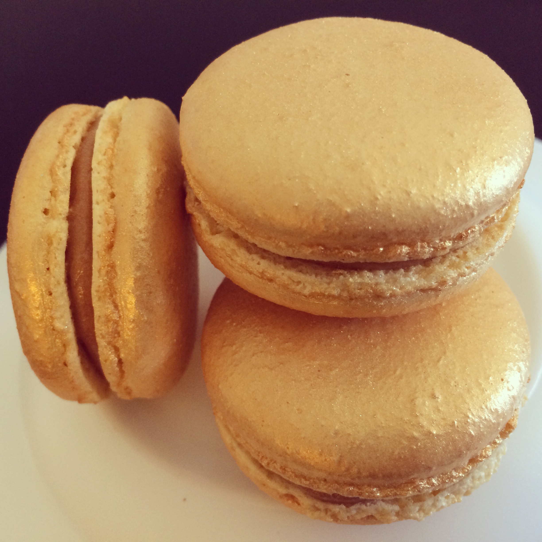 Golden Macarons