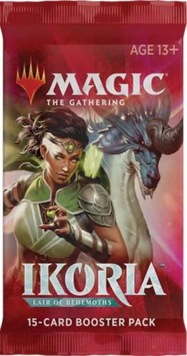 MtG Trading Card Game Ikoria: Lair of Behemoths Booster Pack