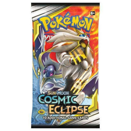 Pokemon Trading Card Game Sun & Moon Cosmic Eclipse Booster Pack