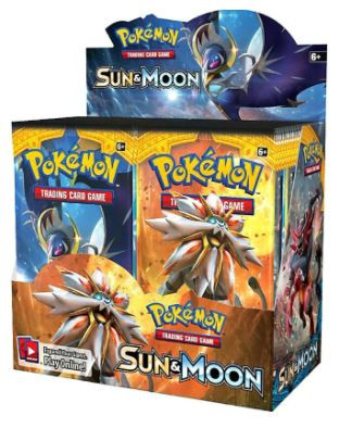 Pokemon Trading Card Game Sun & Moon Boo