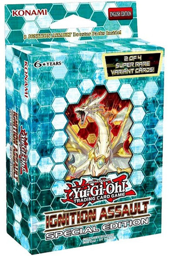 YuGiOh Trading Card Game Ignition Assault Special Edition Deck