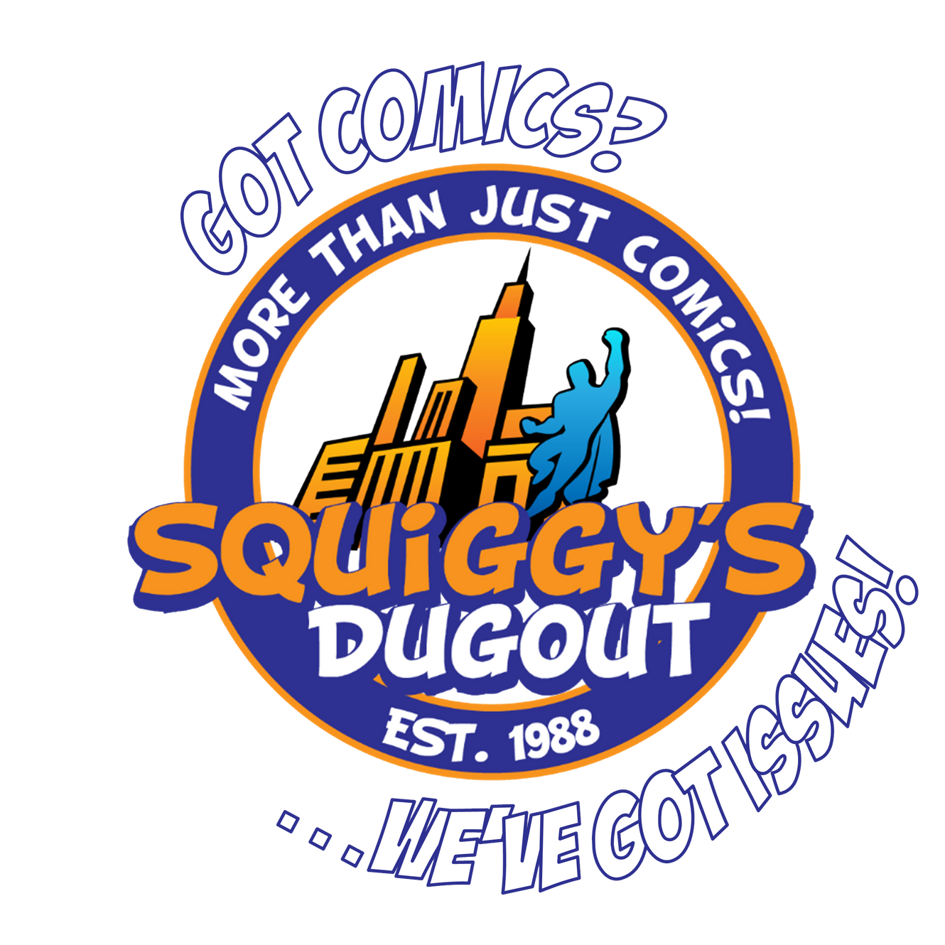 Comic Book Store | Squiggy's Dugout