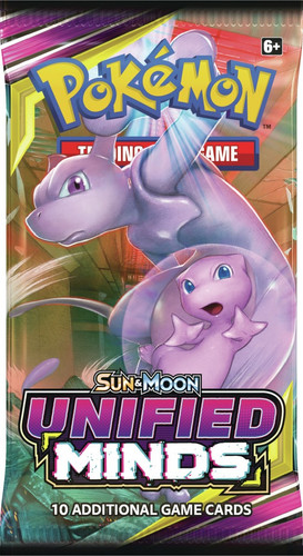 Pokemon Trading Card Game Sun & Moon Unified Minds Booster Pack