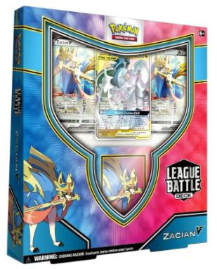 Pokemon Trading Card Game Zacian V Battl