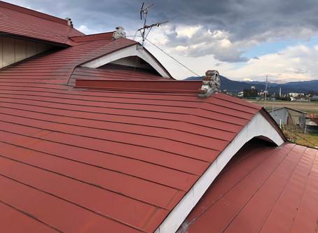 矢巾町 入母屋屋根の雨漏り
